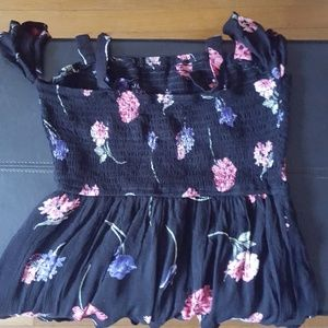 Band of Gypsies Pants - Band Of Gypsies Floral Romper Size M